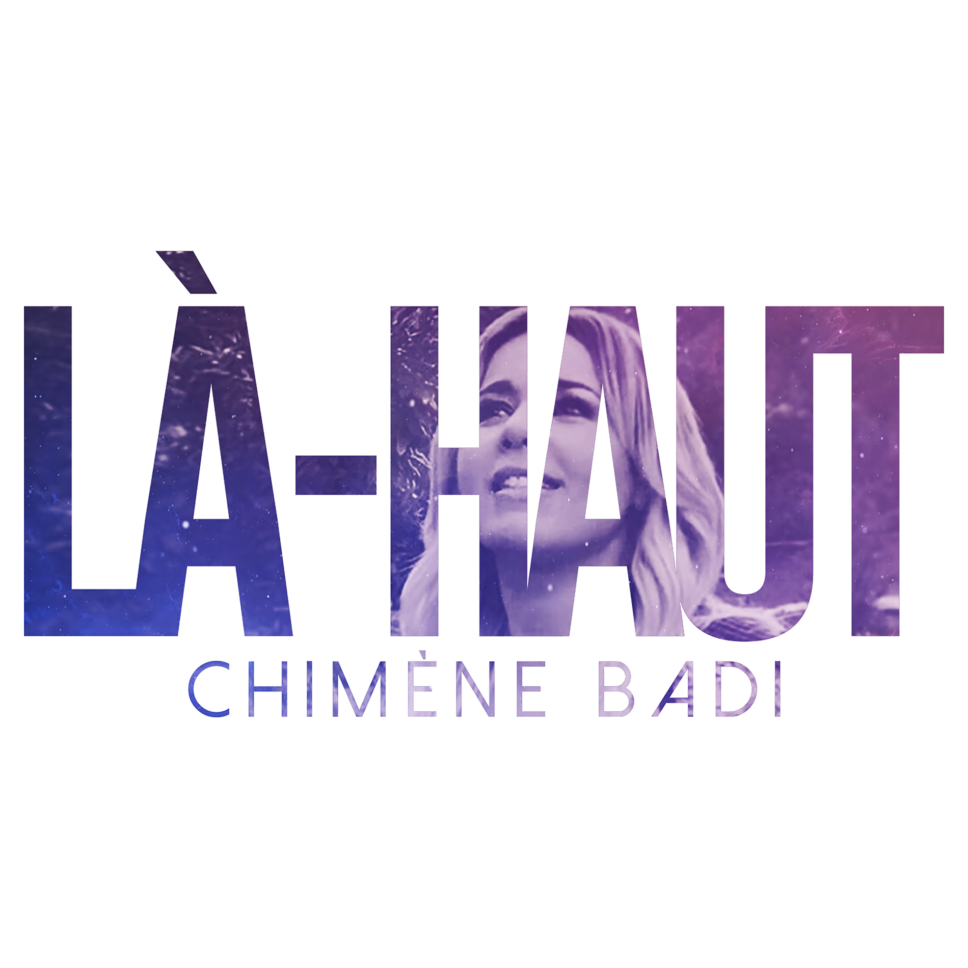 cover album Chimène Badi 2019. Album Là-haut